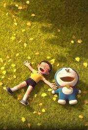 gambar kartun Doraemon 3D