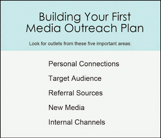 The PR Lawyer: 5 Easy Steps to Build Your First Media Outreach Plan