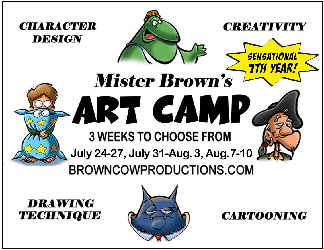 Mister Brown's Art Camp