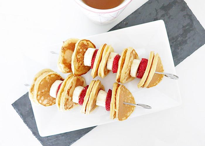 Pikelets .. oder auch Pancake-Sticks