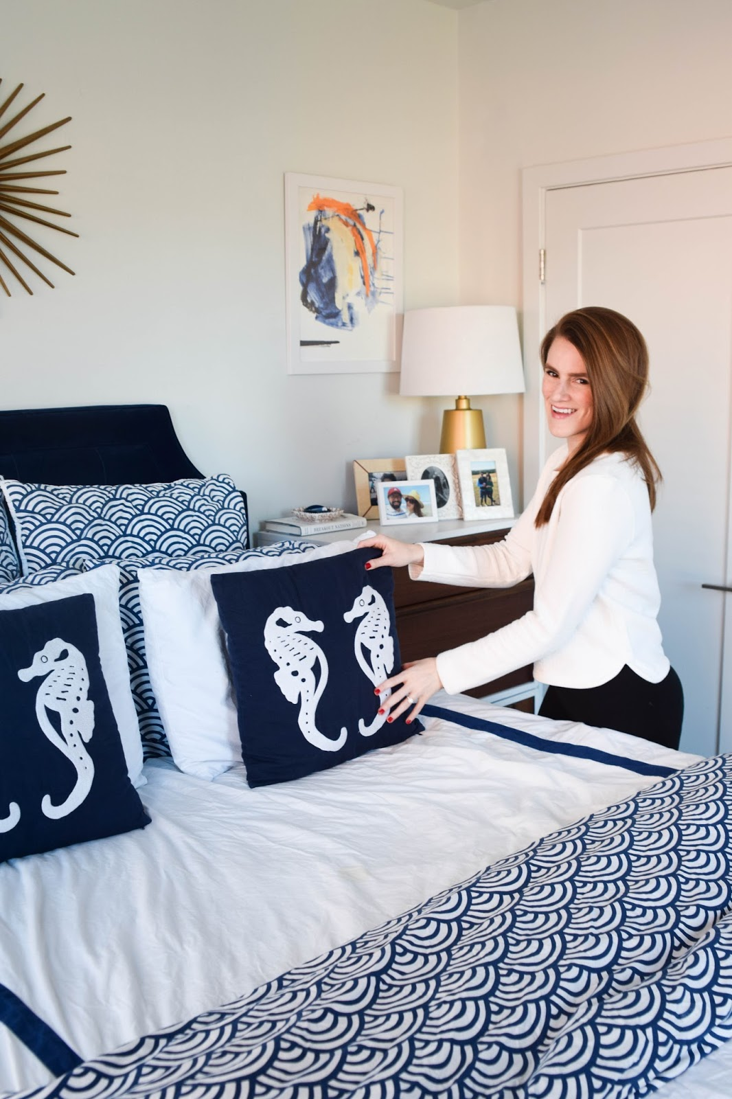 How To Style Your Bedroom Pillows Perfectly