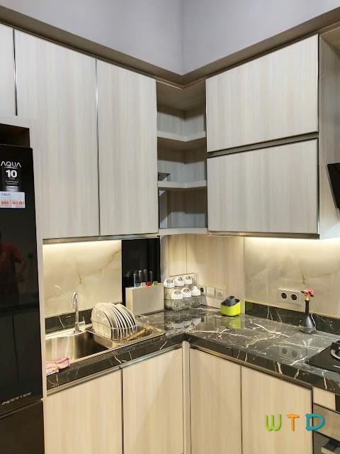 Desain Dapur Kitchen Set Lampung