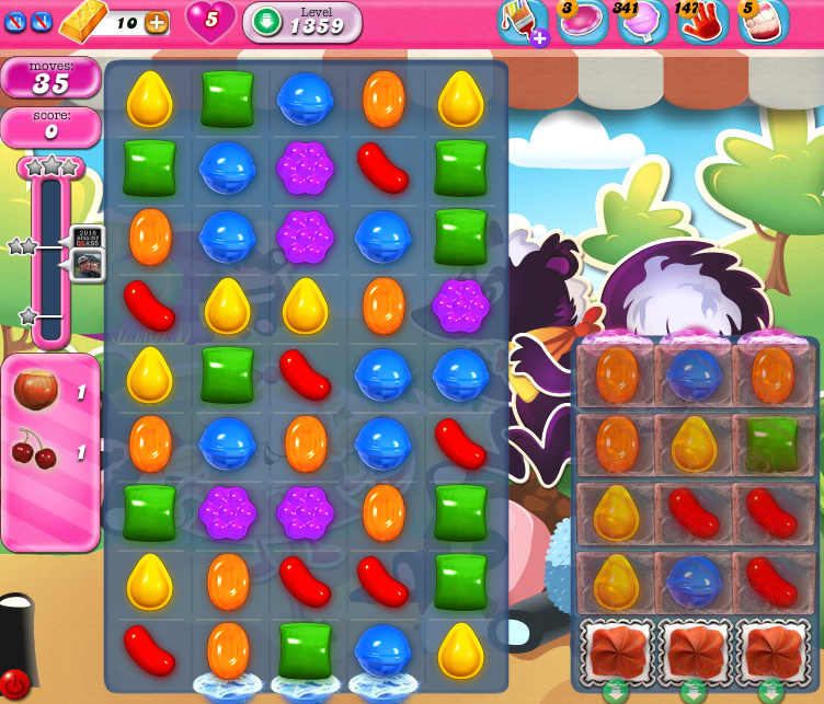 Candy Crush Saga 1359