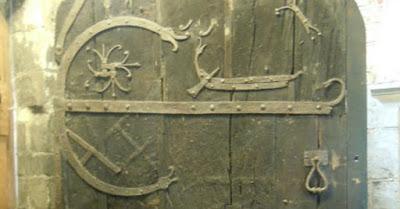Ancient Door, St Helen's Church Stillingfleet York