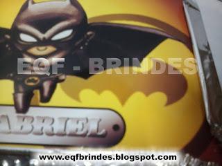 Marmitinha Batman Kid, tema batman kid, brinde batman kid, lembrancinha batman kid
