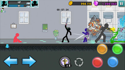 Anger of Stick 5: Zombie screenshot 5