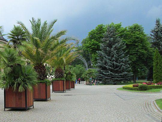 Kudowa-Zdrój. Park Zdrojowy.