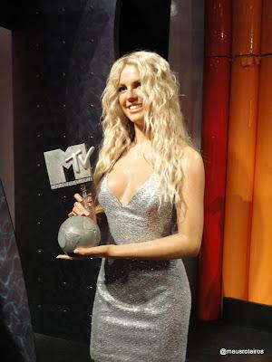Britney Spears de cera - Museu Madame Tussauds, Londres