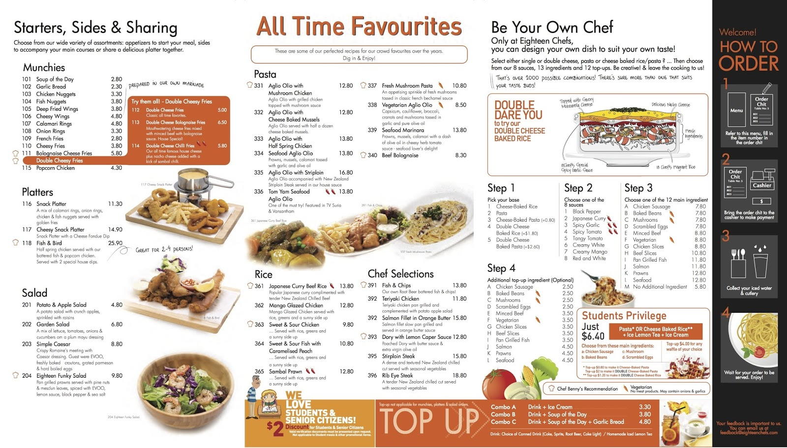Food review eighteen chefs singapore - I Know I Ve Always Been Talking About Food Food Food And Never Treat You All Ah So This Time I M Gonna Treat 1 Lucky Reader Of