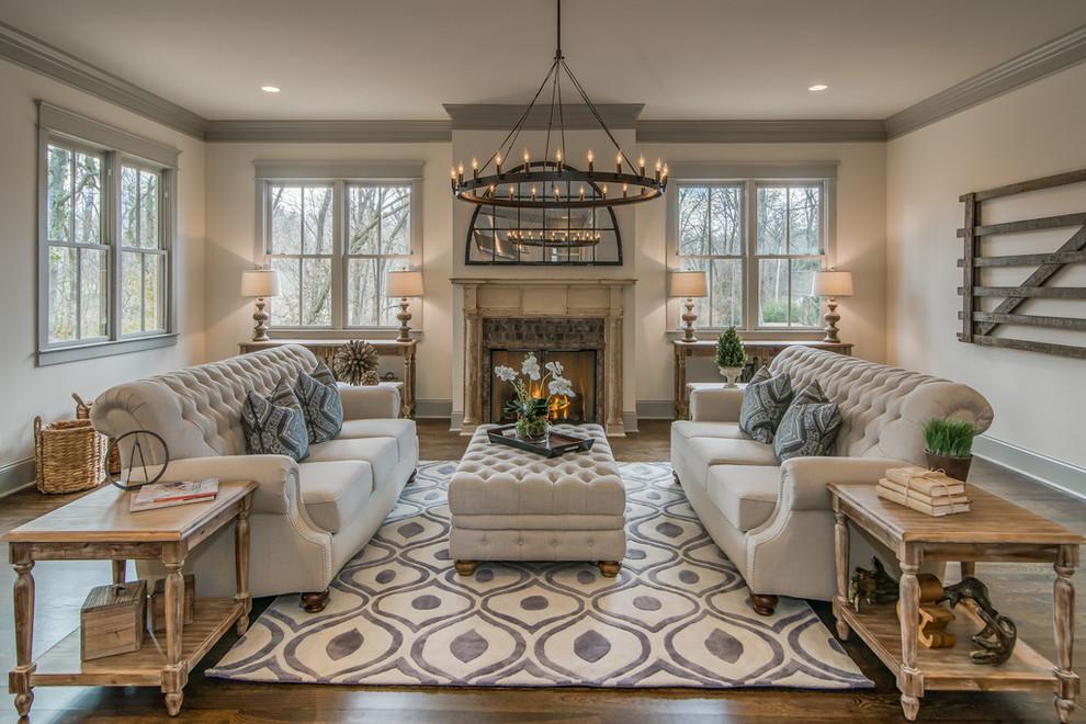 Sofa Rekabentuk Chesterfield Dan Louise Xi A France Untuk Digandingkan Bersama Kerusi Klasik Ruang Tamu Akan Kelihatan Lebih Kemas