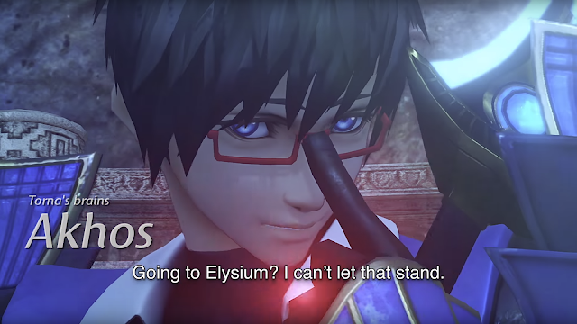 Xenoblade Chronicles 2 Direct Akhos Torna's brains Torna Toma Elysium glasses