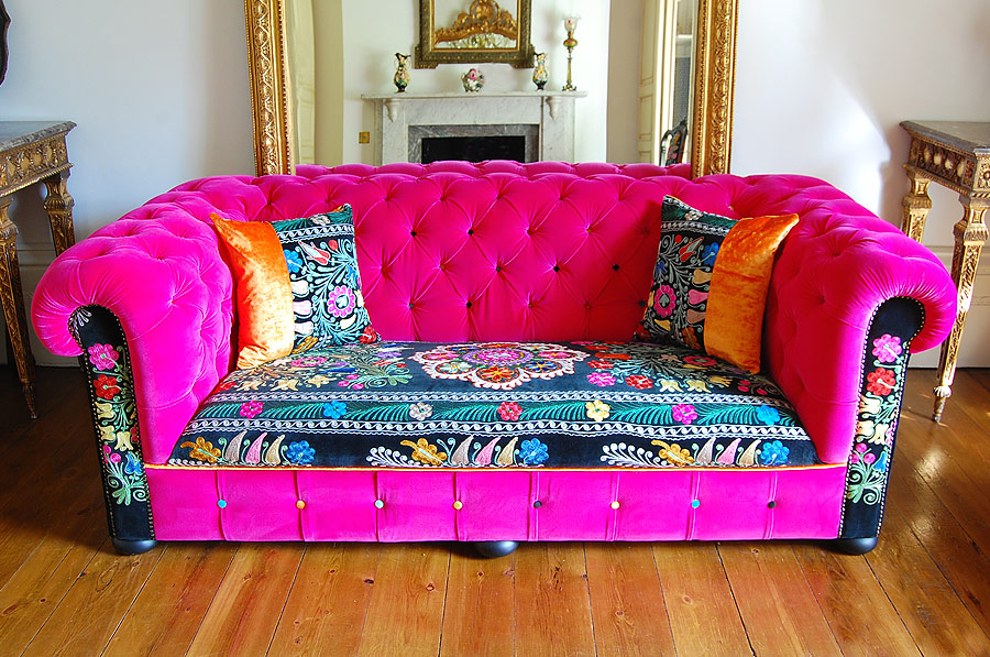 Funky Louis Cold Toes Amp Colourful Couches