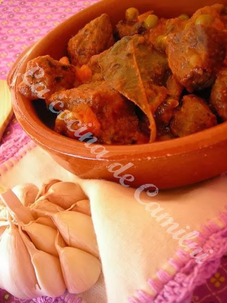 Jarrete de ternera estofado (La cocina de Camilni)