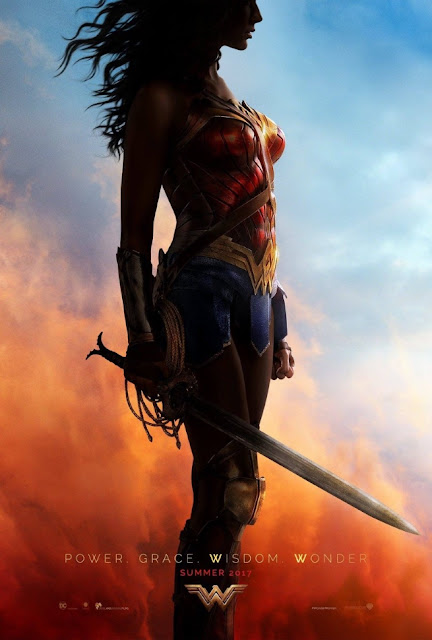 San Diego Comic-Con 2016 Exclusive Wonder Woman Teaser Theatrical One Sheet Movie Poster