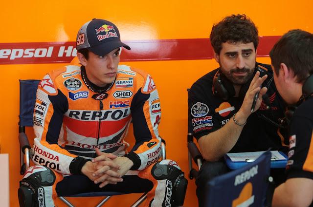berita motogp Honda puji perubahan gaya balap Marquez