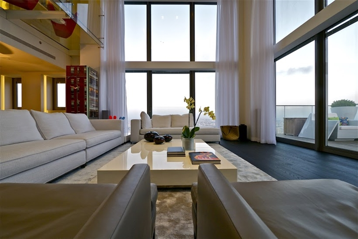Penthouse living room furniture