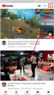 Cara Menghapus Riwayat atau Histori Pencarian dan Histori Watching Video Di Aplikasi Youtube