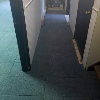 Greatmats Basement Carpet Tiles Raised Squares