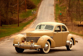 1937 Cord 812 Beverly Sedan Front Left