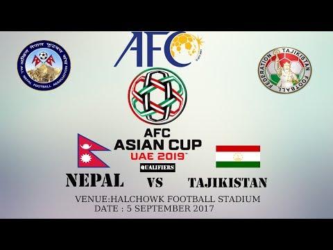 Nepal vs Tajikistan
