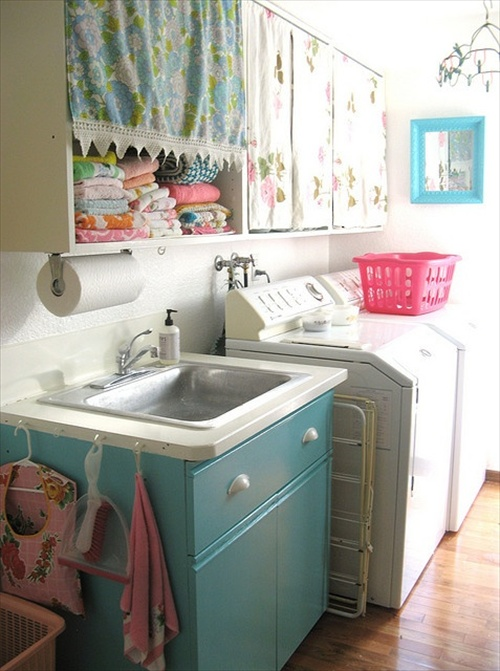 20 Laundry room Ideas - Place to clean clothes | Home ... on Laundry Decor Ideas  id=28202