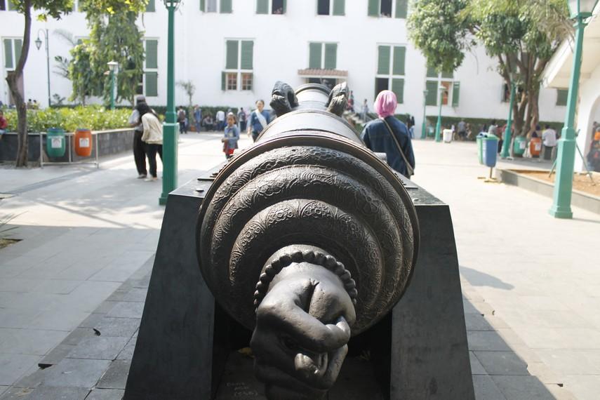 Si Jagur, Meriam Kuno di Museum Fatahillah