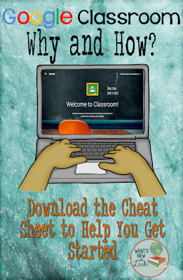 Google Classroom is changing the game for classrooms all around the world. Are you a teacher who's been asked to start using it in your classroom? Or maybe you're wanting to make the jump out of your own volition? Either way, this post will help you learn a little bit more about the pros and cons of using Google Classroom, as well as provide you with a free cheat sheet to help you get started.