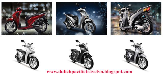 ba mẫu xe SHi 2017 tại thị trường Việt Nam