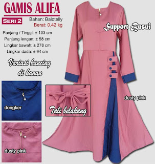 Gamis gaun model baru - alifa 2