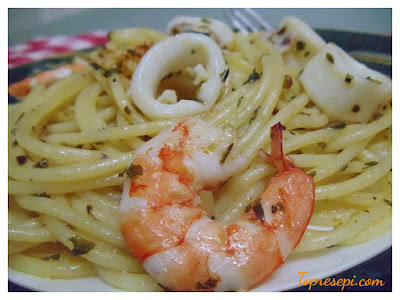 Resepi Spaghetti Aglio Olio Yang Mudah