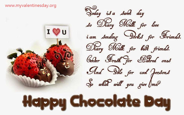 Chocolate Day Thoughts