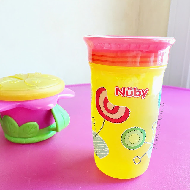 Nuby 360 Wonder Cup  |  The Beauty Puff