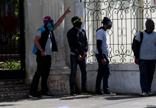 Grupos civiles armados apoyan al dictador nicaraguense / REUTERS