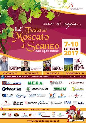Festa del Moscato di Scanzo 7-8-9-10 settembre Scanzorosciate (BG)