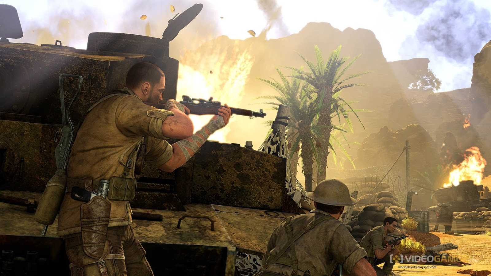 sniper elite 3 pc download highly compressed