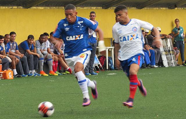 Resultado de imagem para Bahia 0x2 Cruzeiro copa são Paulo jr 2017 SPORTV