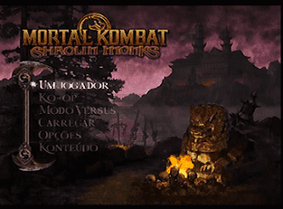 Download ISO Mortal Kombat: Shaolin Monks PS2 Torrent Pt-Br.