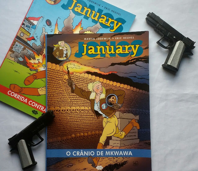 [Quadrinhos] January Jones - O Crânio de Mkwawa
