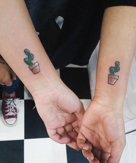 Tatuagem Cacto