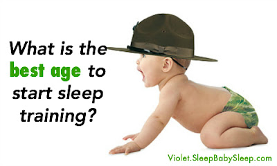 when to start sleep training, when should I start sleep training, when do you start sleep training, best age to start sleep training