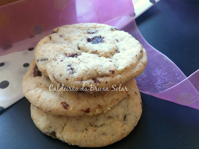 Cookies de especiarias e chocolate
