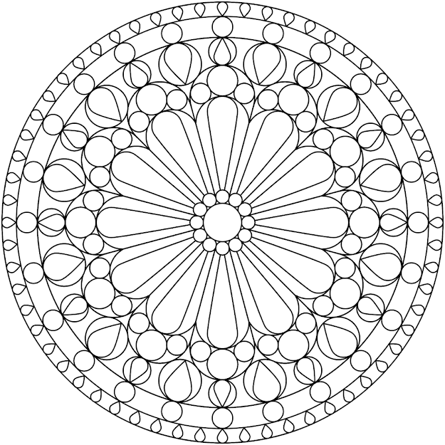 Free Printable Mandala Coloring Pages  Freemandalacoloringpagesfor