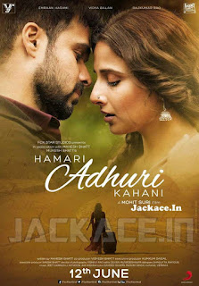 Hamari Adhuri Kahani (2015) Day Wise Box Office Collection