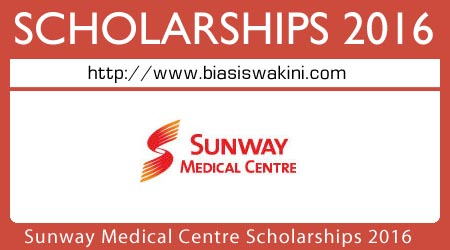 Sunway Medical Centre Scholarships 2016