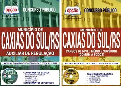 Apostila Prefeitura de Caxias do Sul 2018