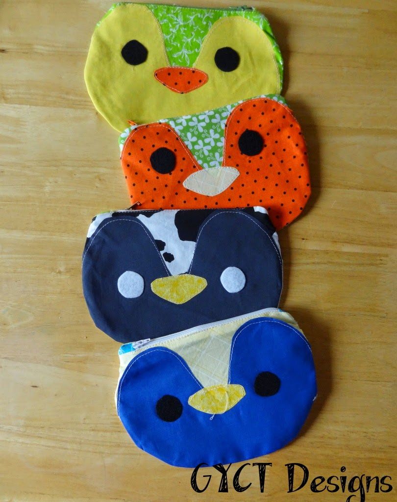 Zippy Critters from Stubbornly Crafty Sewn by GYCT