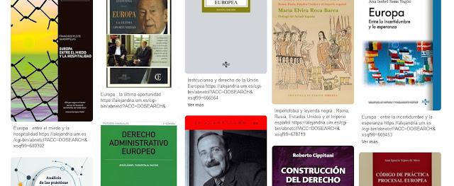 Novedades bibliográficas del mes junio en el Centro de Documentación Europea.