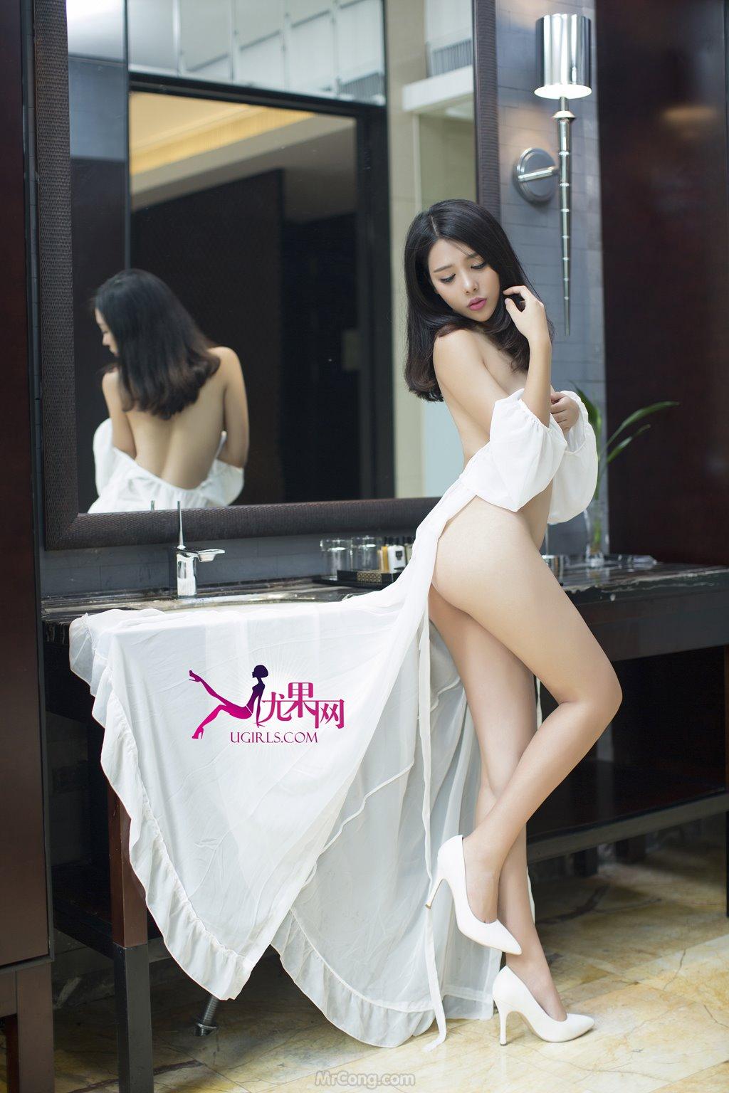 Người đẹp Zhang Xu Fei (张栩菲) bốc lửa trong bộ ảnh UGIRLS 048