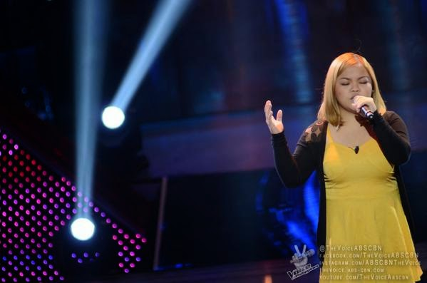 VIDEO: Mackie Cao sings 'Listen' on 'The Voice PH' Blind Auditions