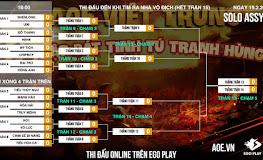Công bố lịch thi đấu chính thức giải đấu AoE Thập Bát Tinh Tú Tranh Hùng